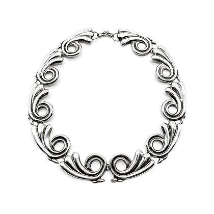 Vintage Silver Mexican Necklace