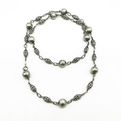 Ornate Silver Necklace