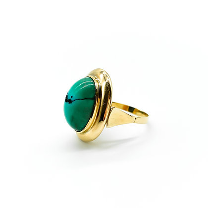 14ct Gold and Turquoise Vintage Ring