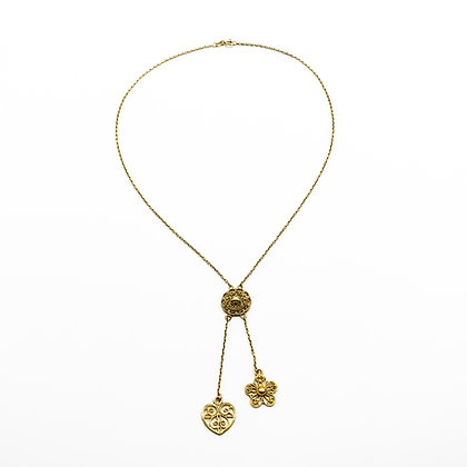 18ct Gold Filigree Necklace (Sold)