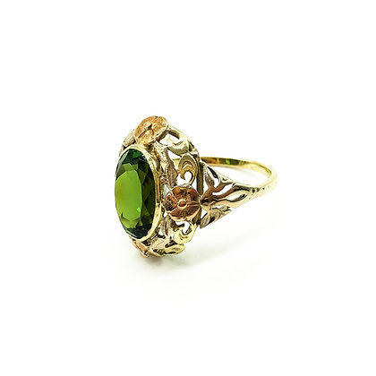 14ct Gold Tourmaline Ring (Sold)