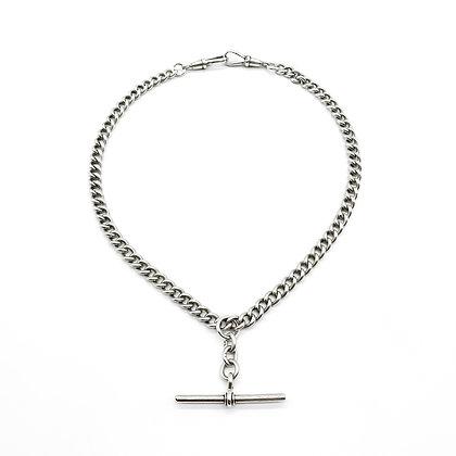 Edwardian Silver Fob Chain
