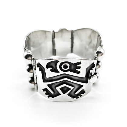 Vintage Silver Mexican Bracelet