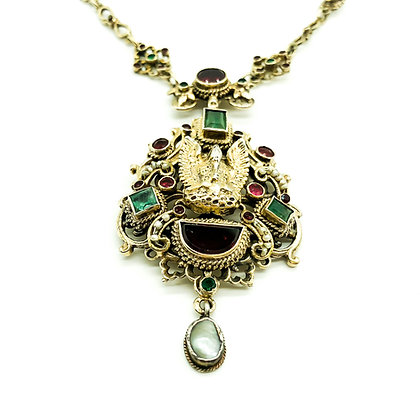 Silver Gilt Austro-Hungarian Necklace (Sold)