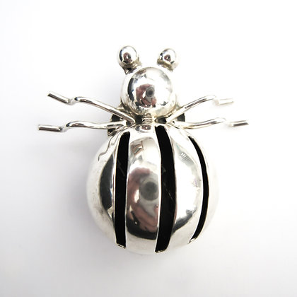 Silver Mexican Insect Brooch (Sold)