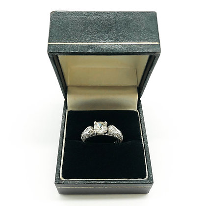 14ct White Gold Diamond Ring (P.O.R)