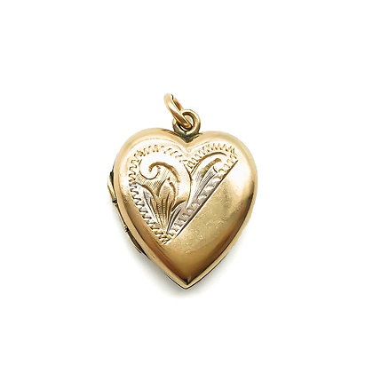 Vintage 9ct Gold Back and Front Locket (Sold)