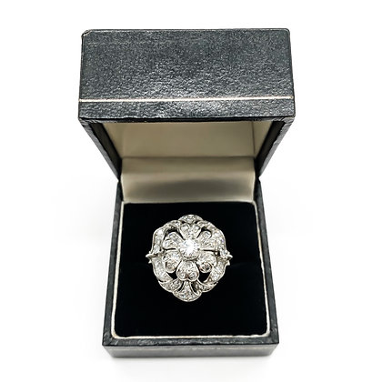 18ct White Gold and Diamond Cocktail Ring (P.O.R)