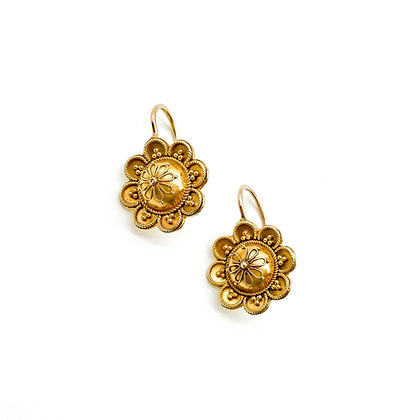 Victorian 18ct Gold Earrings (Sold)