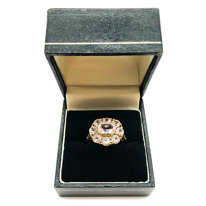 Vintage 14ct Gold and Morganite Ring (Sold)
