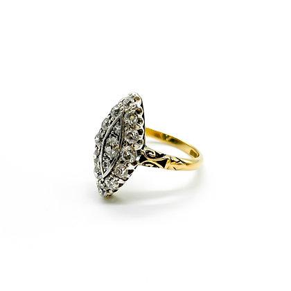 18ct Gold Edwardian Diamond Ring