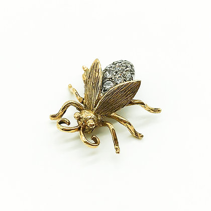 Vintage 9ct Gold Insect Brooch (Sold)