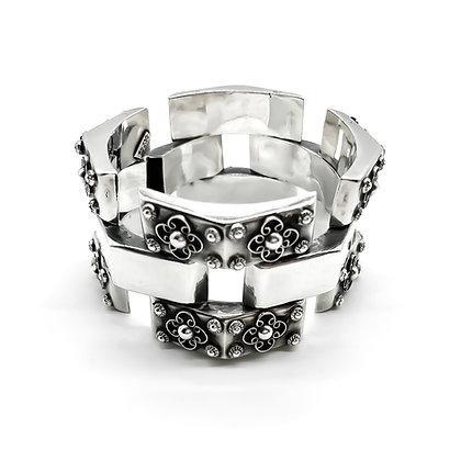 Mexican Silver Filigree Bracelet