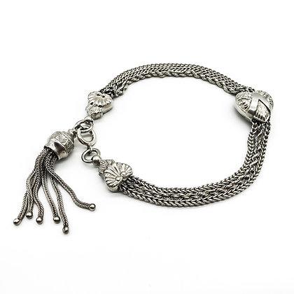 Victorian Silver Albertina Bracelet (Sold)