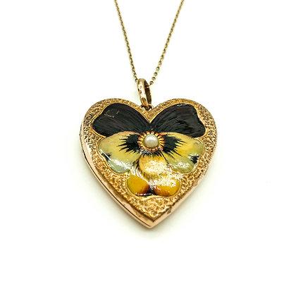 Victorian 9ct Gold Heart Locket (Sold)