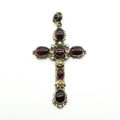 Silver Gilt Austro-Hungarian Cross
