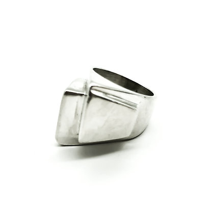 Modernist Silver Mexican Ring (Sold)
