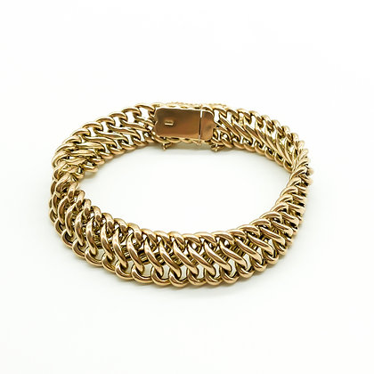 9ct Gold Fancy Link Bracelet (Sold)
