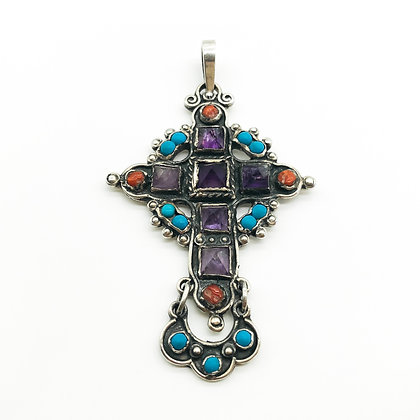 Vintage Mexican Silver Cross (Sold)