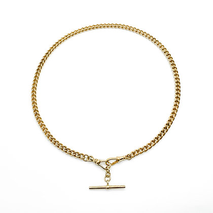 Victorian 9ct Gold Fob Chain