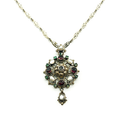 Silver Austro-Hungarian Pendant on Chain (Sold)