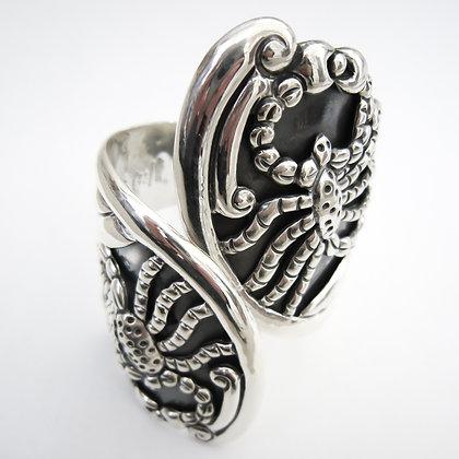 Silver Mexican Scorpion Clamper Bangle (Sold)