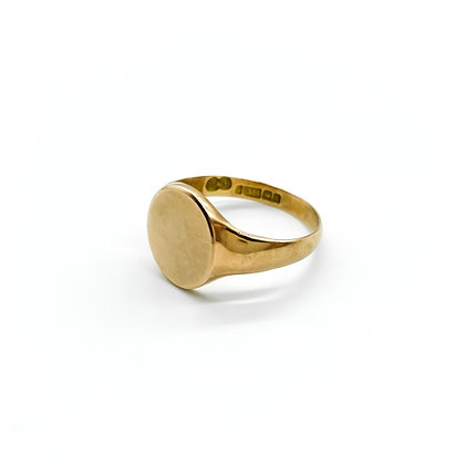 Victorian 9ct Rose Gold Signet Ring (Sold)