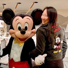 Mickey's got my back! 🤣🤣_._._._#mickey