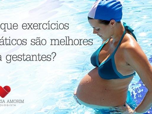 Por que exercícios aquáticos são melhores para gestantes?