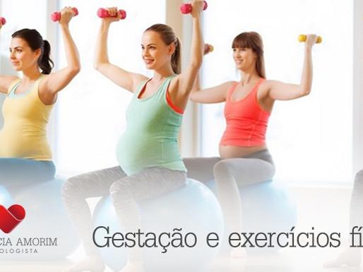 Gestação e exercícios físicos