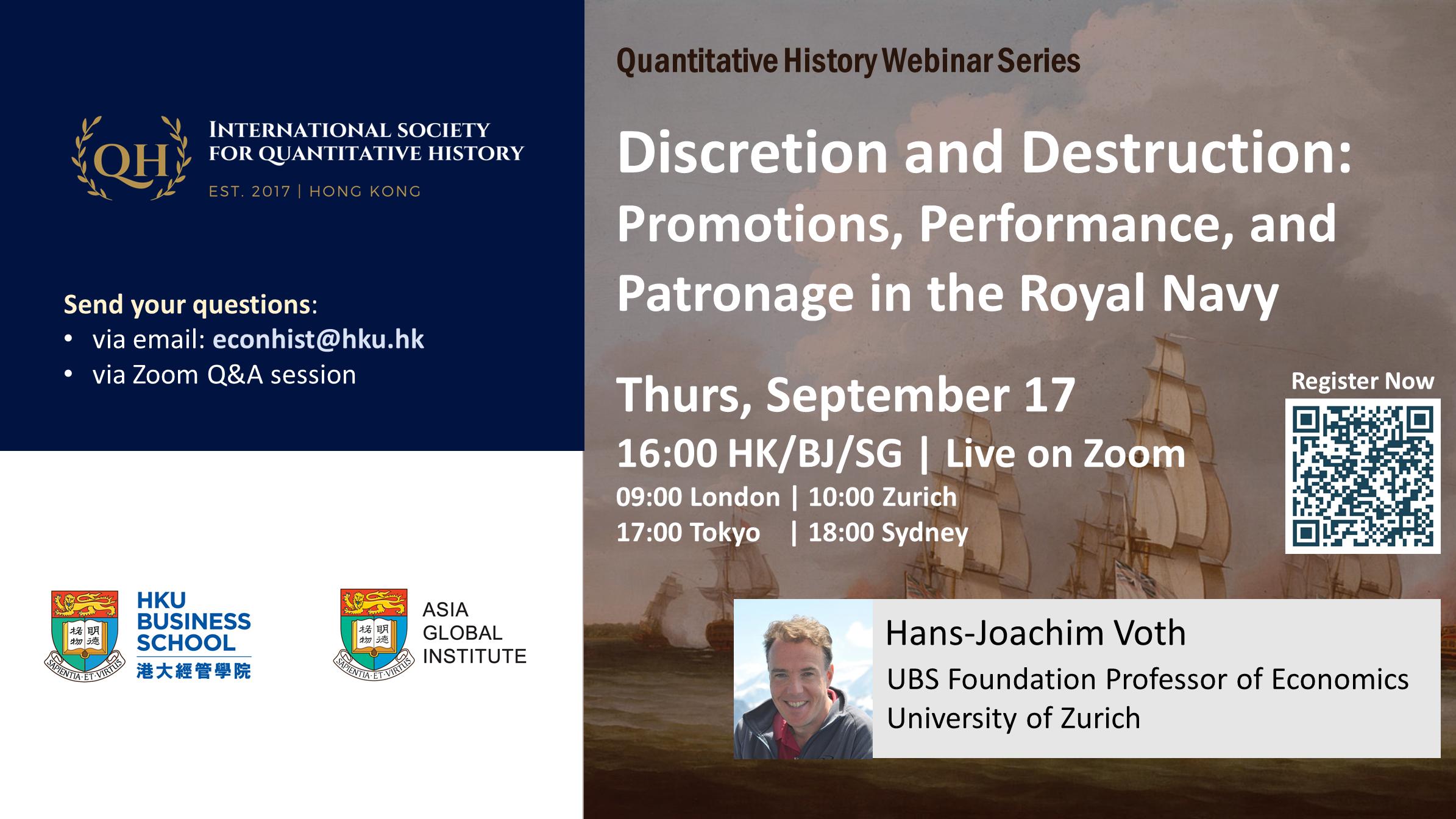 Quantitative History Webinar Series_Sept