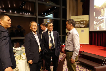 AHEC2018 Conference Dinner closing.JPG