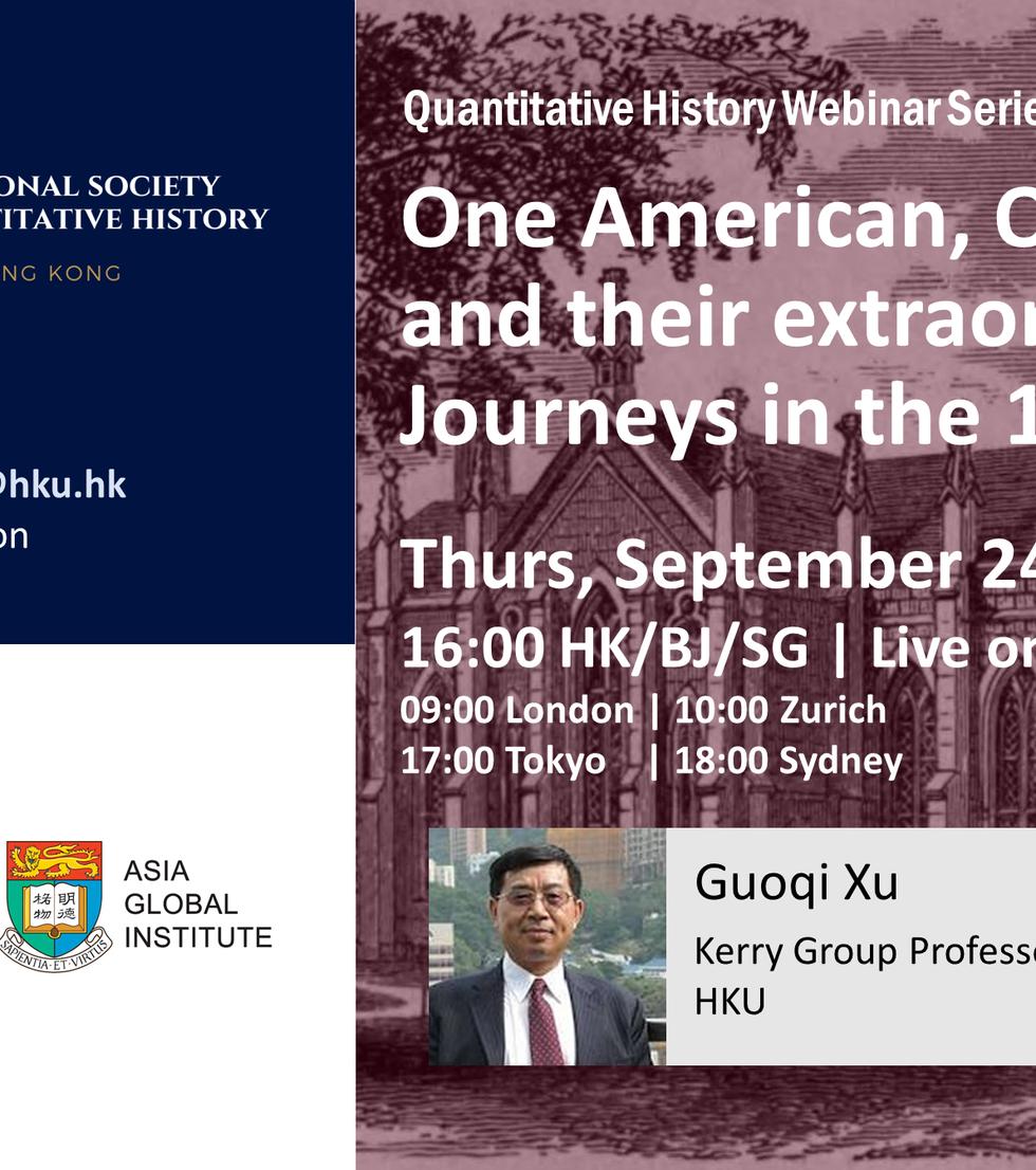 Quantitative History Webinar Series_Xu_L