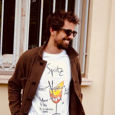 tshirt cocktail spritz italian style