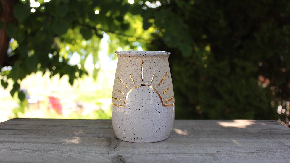 Golden Sun Vase/Tumbler