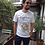 Thumbnail: T-shirt  Spaghetti maniche corte - cotone organico