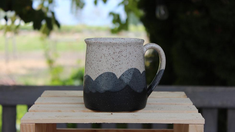 Regular Mug - B&W Wave