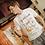 Thumbnail: T-shirt Cappuccino & brioche maniche corte - cotone organico