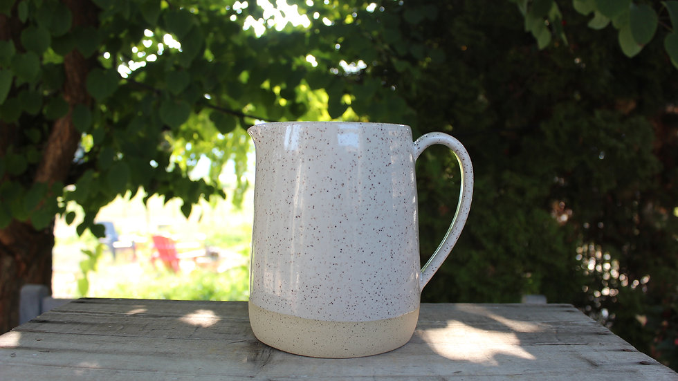 Large Pitcher - White
