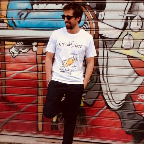 tshirt siciliana cannolo tarluc