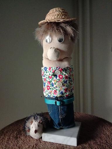 Sölnman och hans husdjur Gnagarin