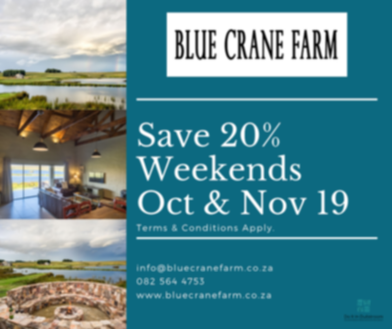 blue crane weekends.png