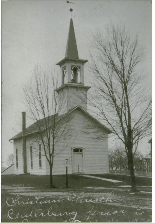 Centerburg Christian Church prior to 1909 fire.