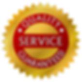 Quality service guaranteed logo
