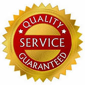 Quality service guaranteed logo