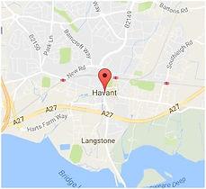 Map of Havant