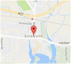 Map of Emsworth