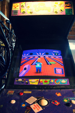 Simpsons bowling
