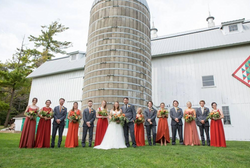Autumn Wedding Party