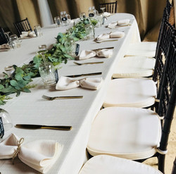 Harvest Head Table